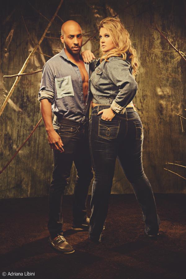 Lívia Salomão arrasa em editorial jeans