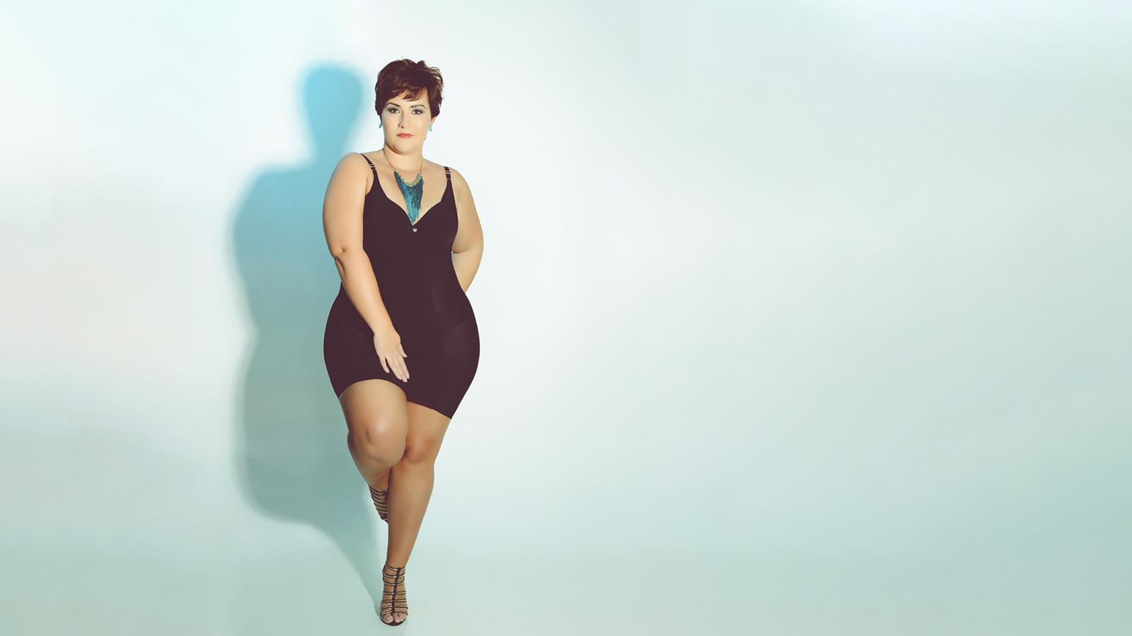 Modelo Plus Size não precisa cuidar do corpo? 1